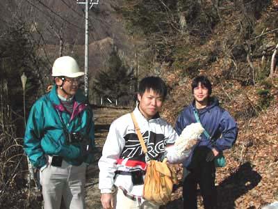 ある日の地質巡検